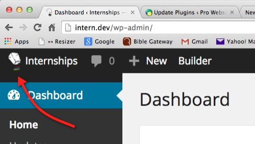 Changing and Overriding the WordPress Admin logo after thedavebraun