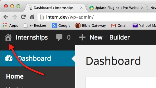 Changing and Overriding the WordPress Admin logo before thedavebraun