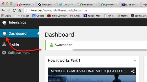 Changing and Overriding the Wordpress Dashboard logo after thedavebraun