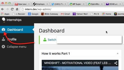 Changing and Overriding the WordPress Dashboard logo before thedavebraun