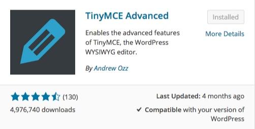 tinymce advanced list of wordpress plugins thedavebraun