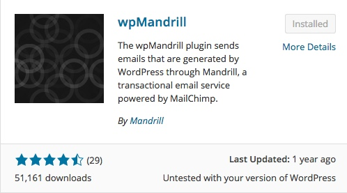 wp mandrill list of wordpress plugins thedavebraun