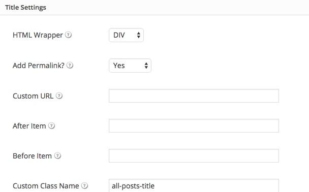 Implementing a WordPress Grid using Loopbuddy title thedavebraun
